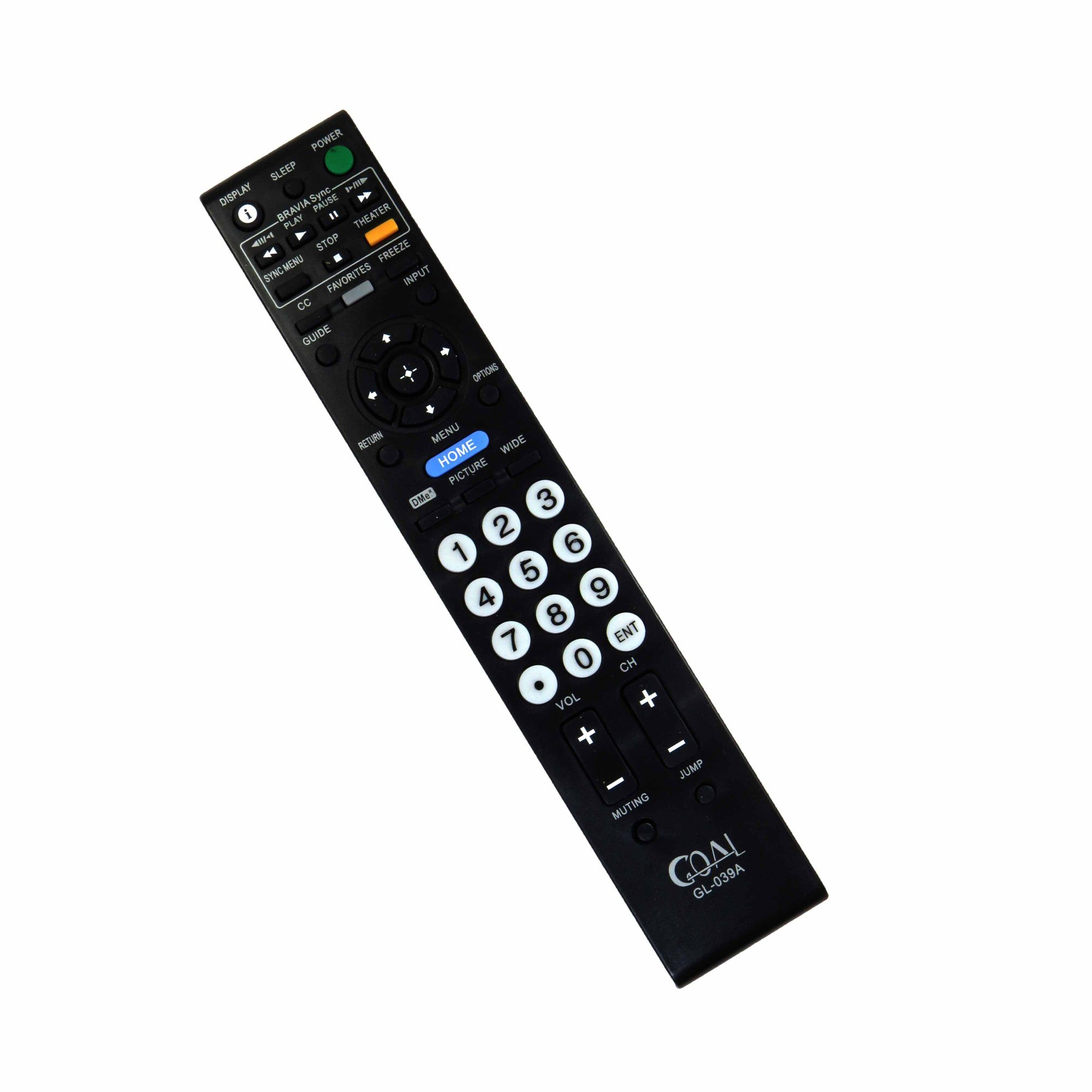 Controle Remoto Para TV LCD LED Sony Bravia RM-YD023