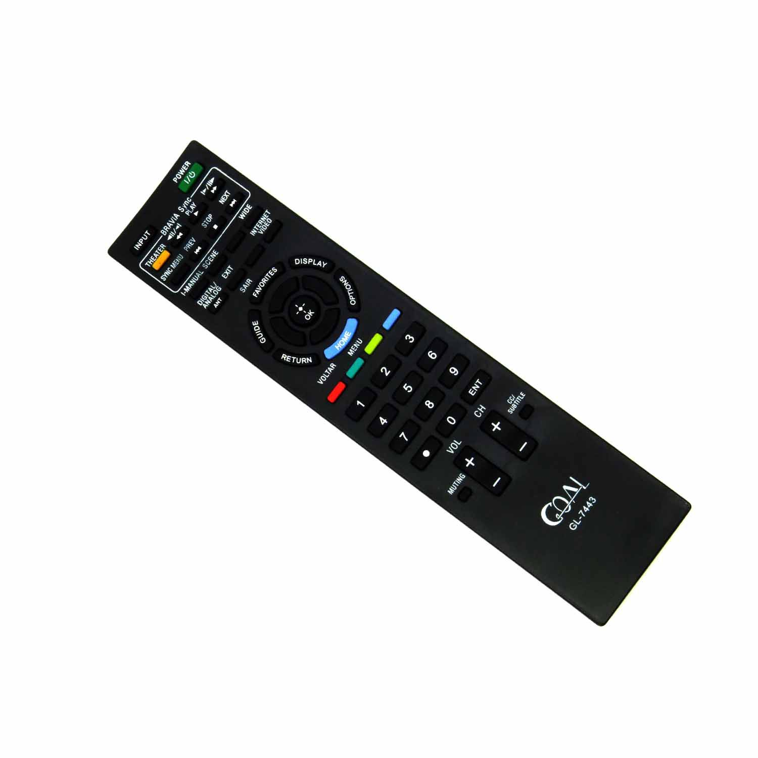 Controle Remoto Para TV LCD LED Sony Bravia RM-YD047 Goal
