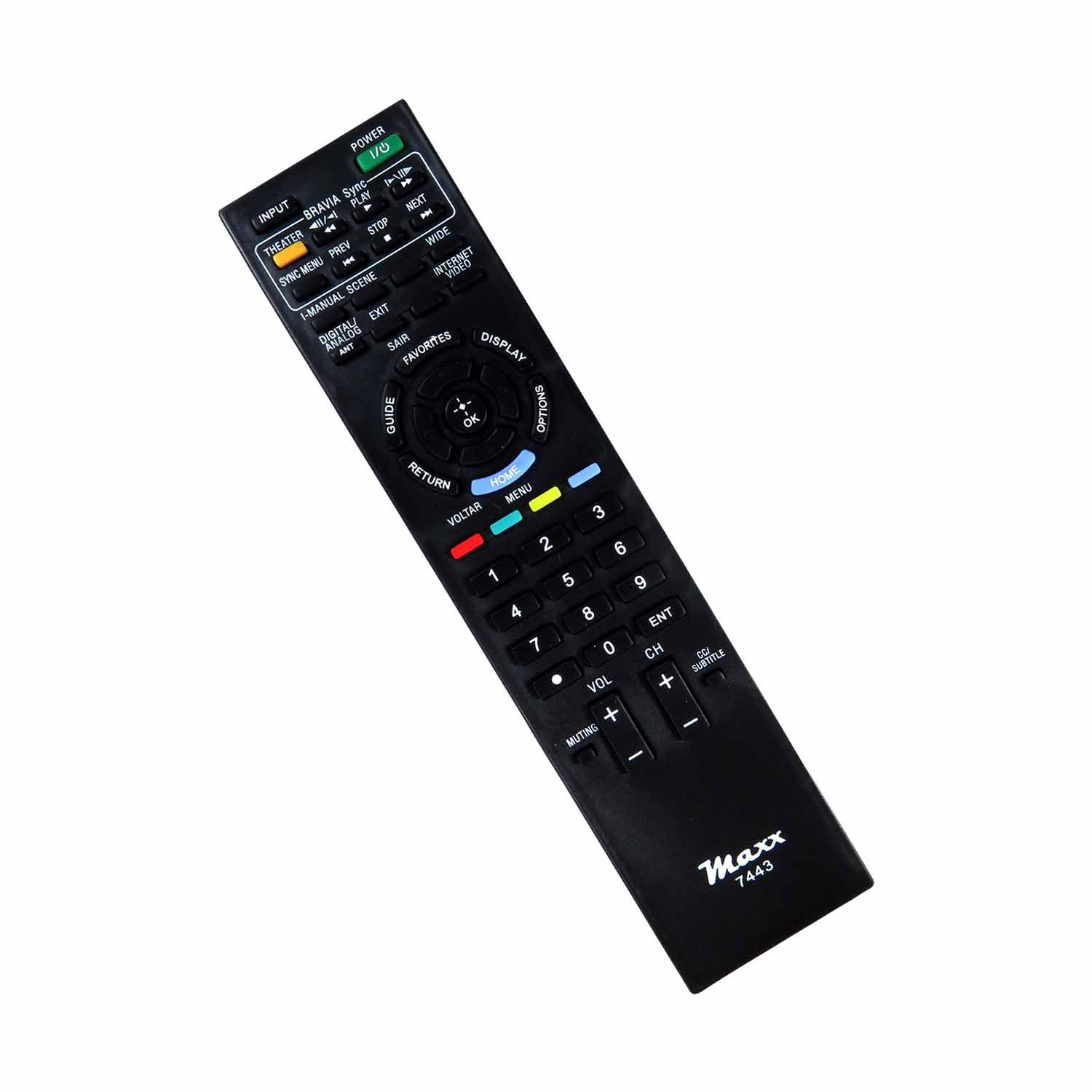 Controle Remoto Para Tv Lcd Led Sony Bravia Rm-yd047