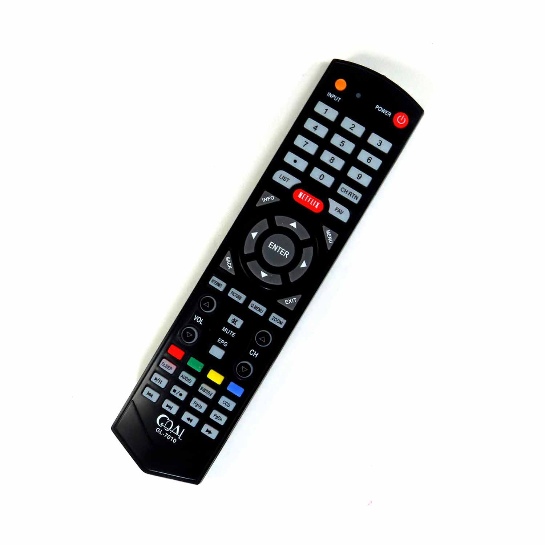 Controle Remoto Para TV LCD LED STI SEMP Toshiba Netflix