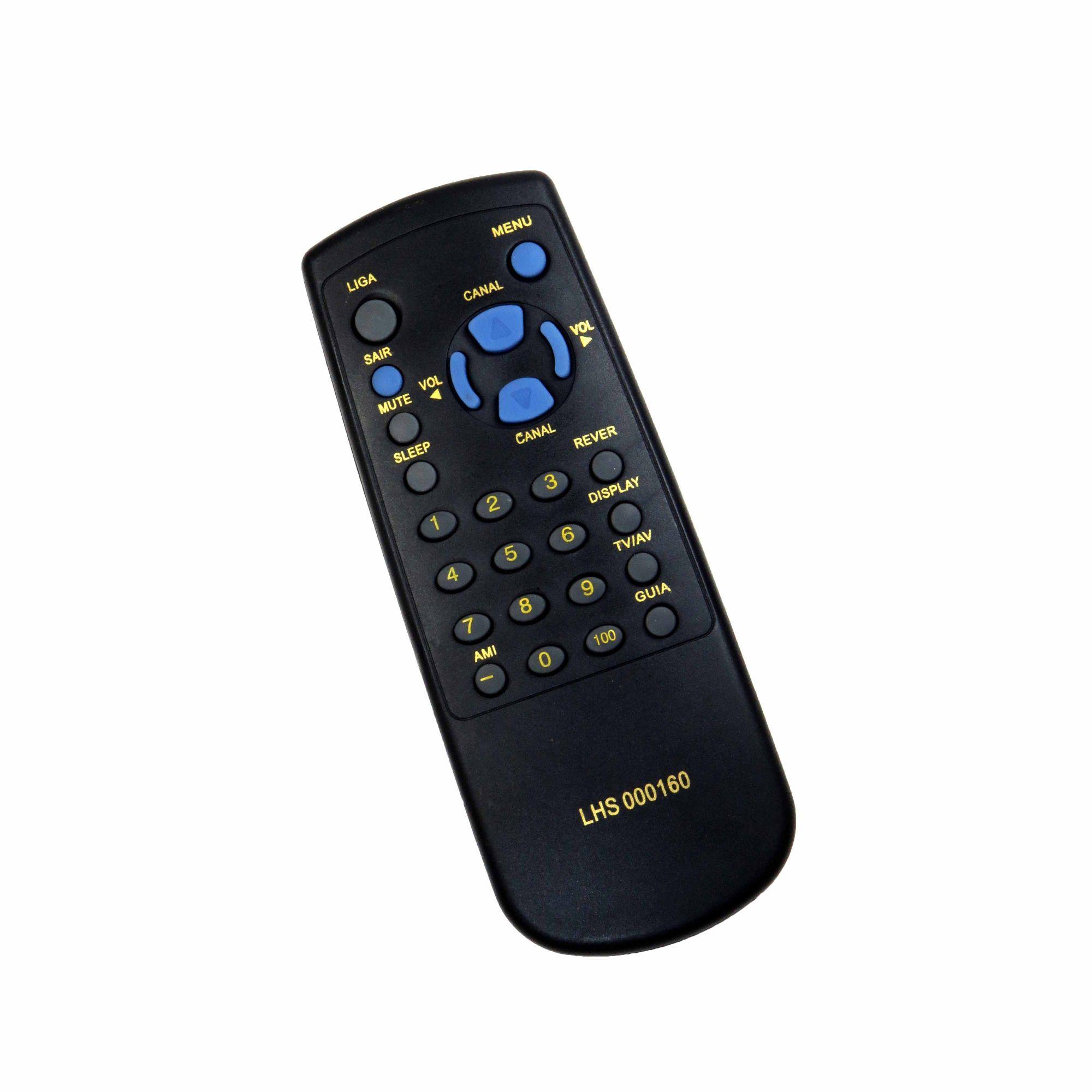 Controle Remoto Para TV Sharp Tubo C1438 C2038 000160 000137