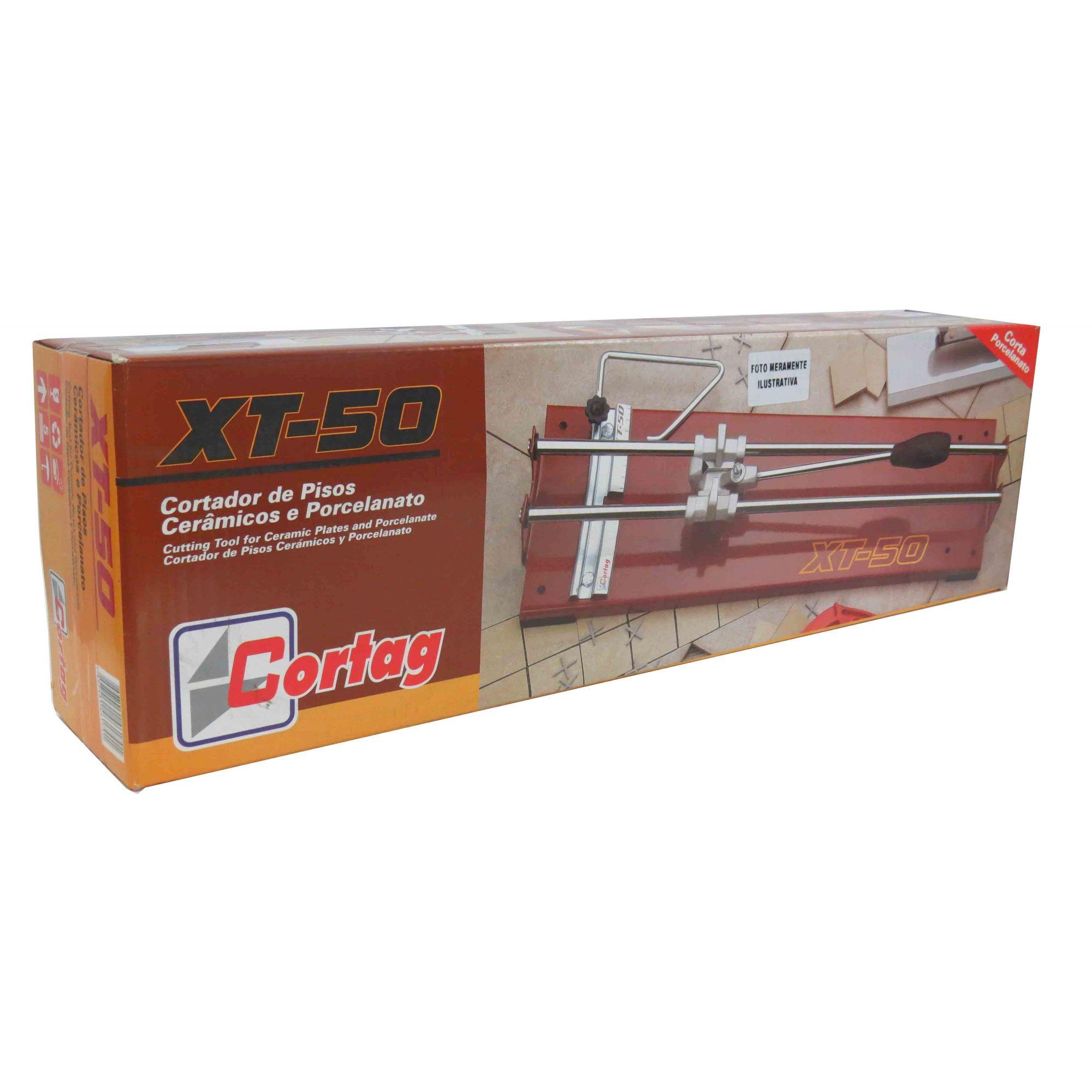 Cortador Com Aço De Pisos Cerâmicos E Porcelanatos Xt-50
