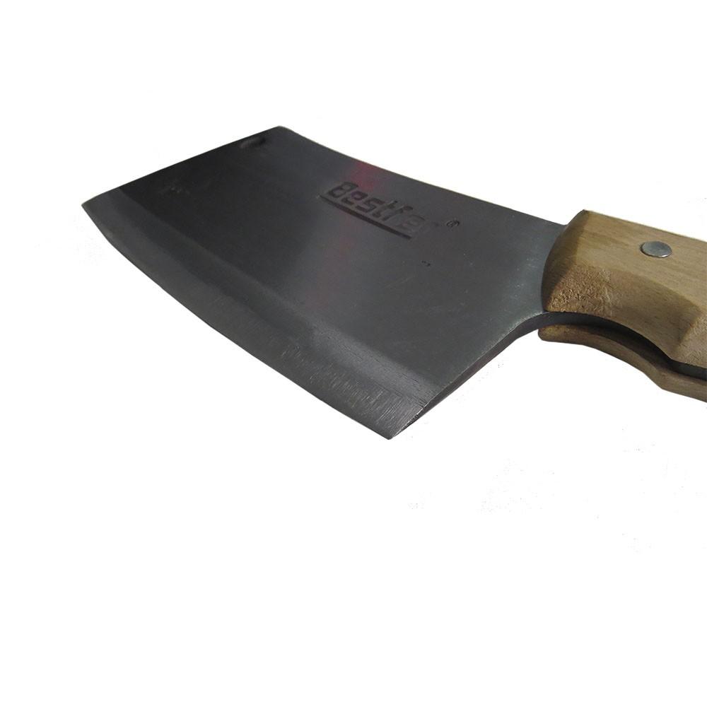 Cutelo Tipo Artesanal Aço Manganês 8,5 Pol Full Tang Bestfer