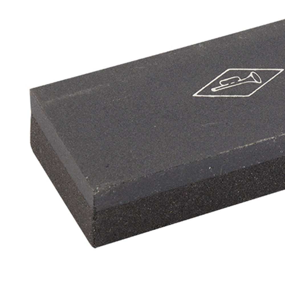 Cutelo Tipo Artesanal Aço Manganês 8,5 Pol + Pedra de Afiar