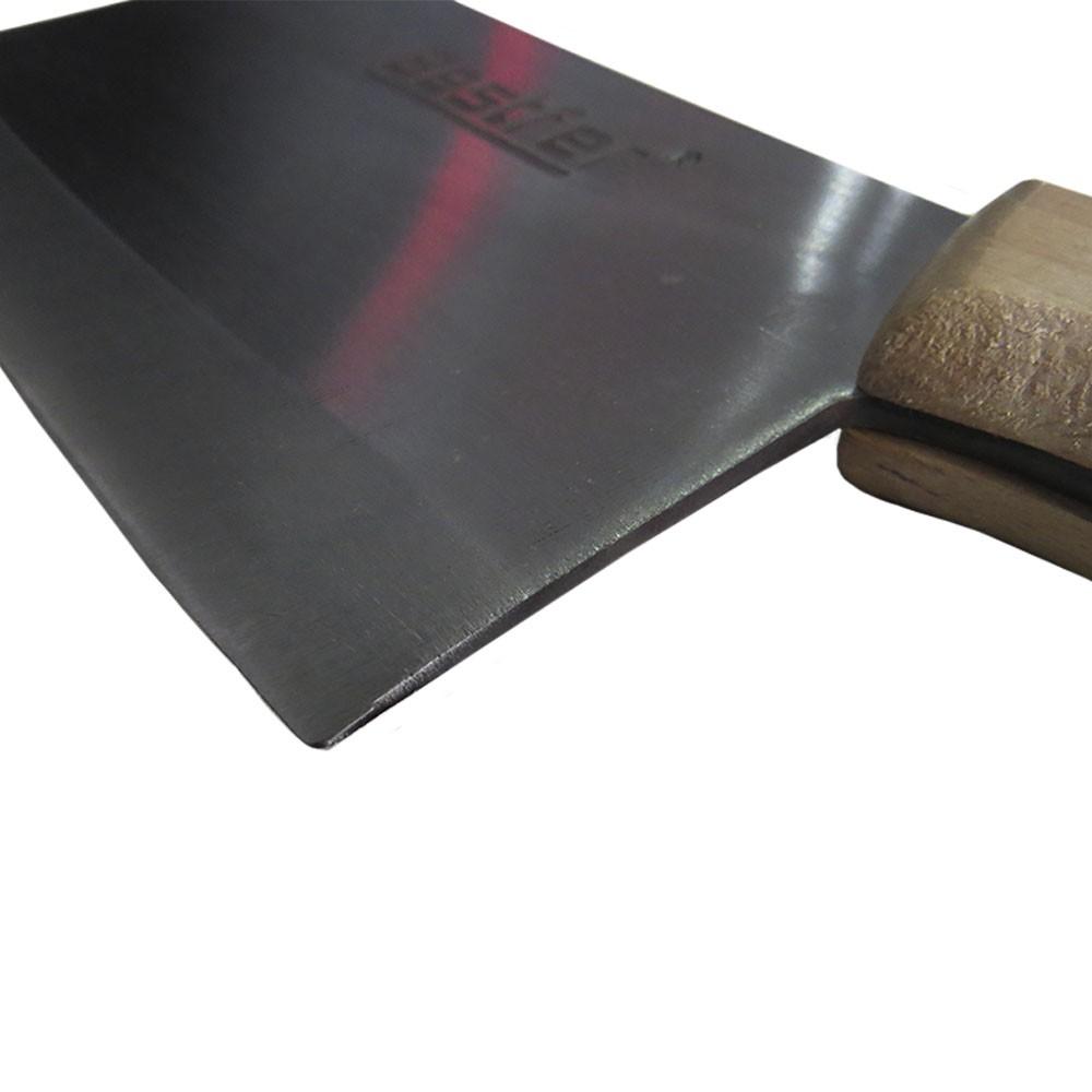 Cutelo Tipo Artesanal Furo em Aço Manganês 8 Pol Bestfer