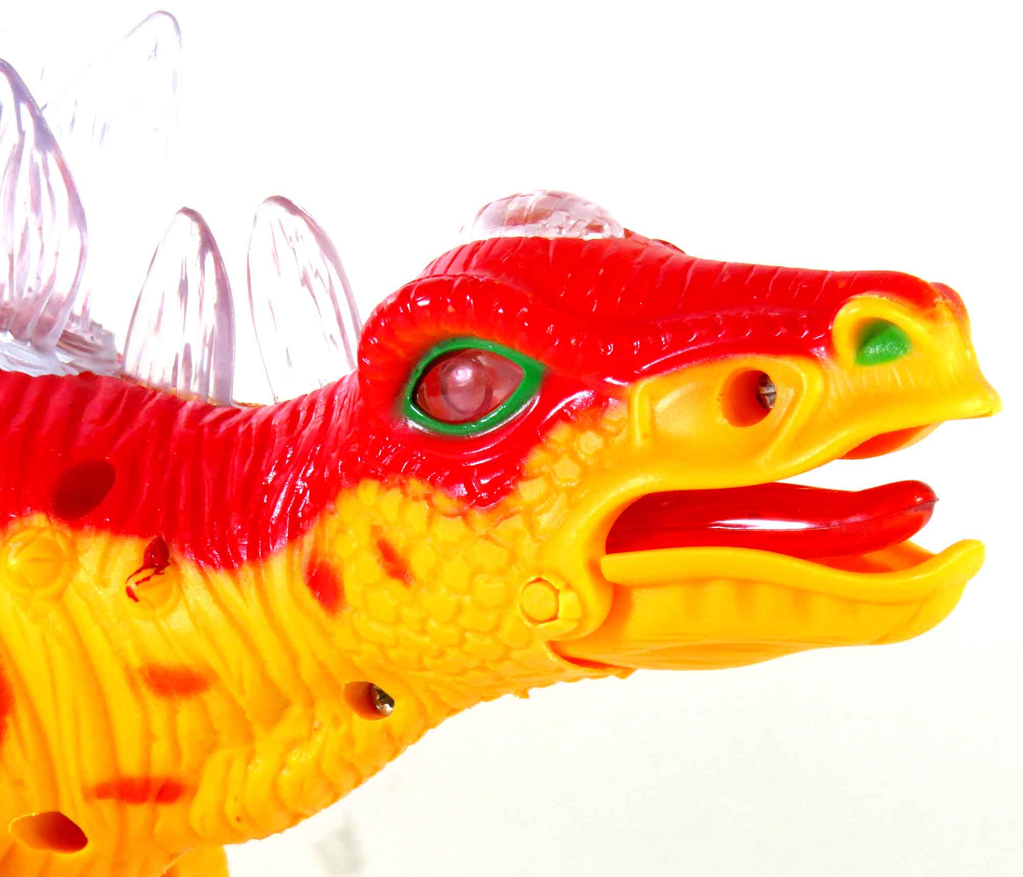 Brinquedo Dinossauro Eletrônico Com Luz Led E Som