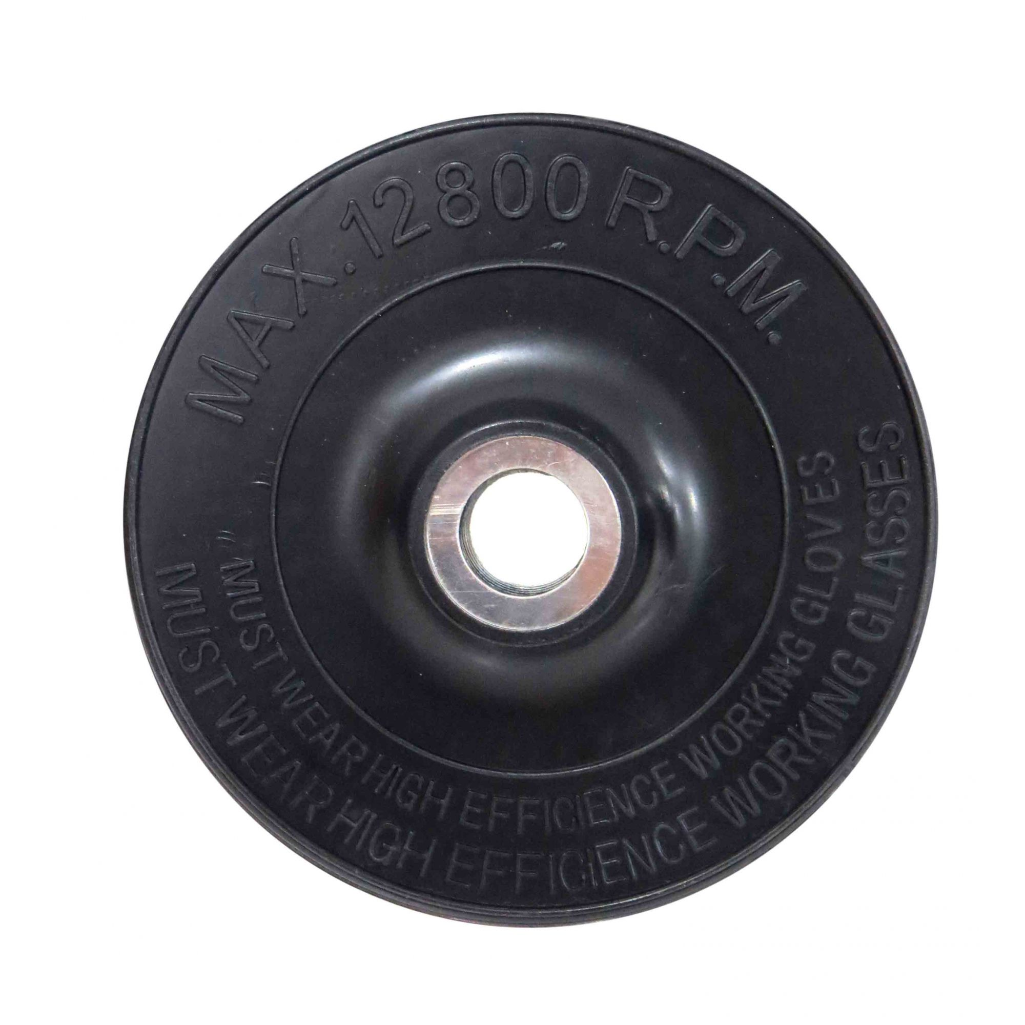 Disco De Goma Borracha Para Esmeril 115mm