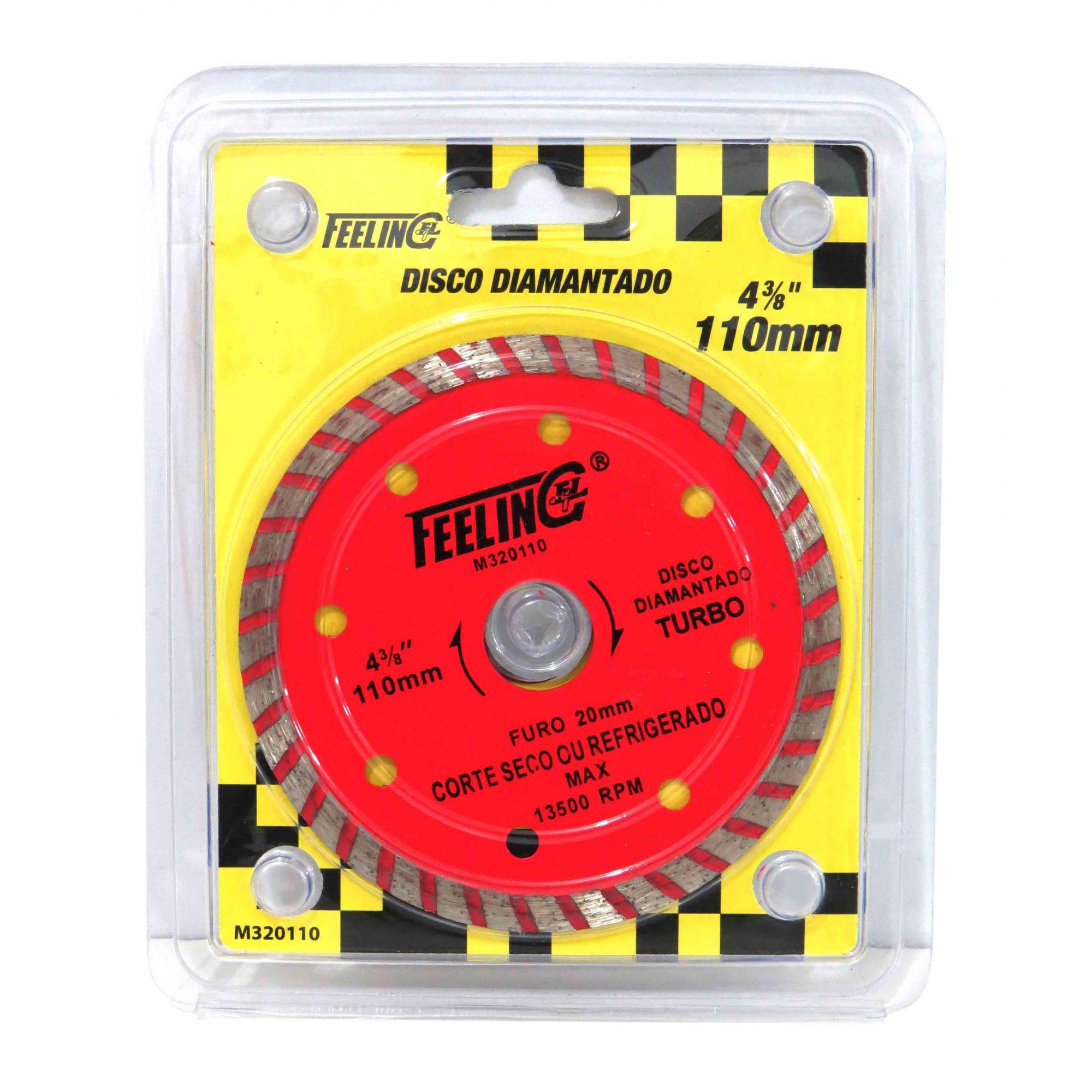 Disco De Corte Diamantado Turbo 110mm