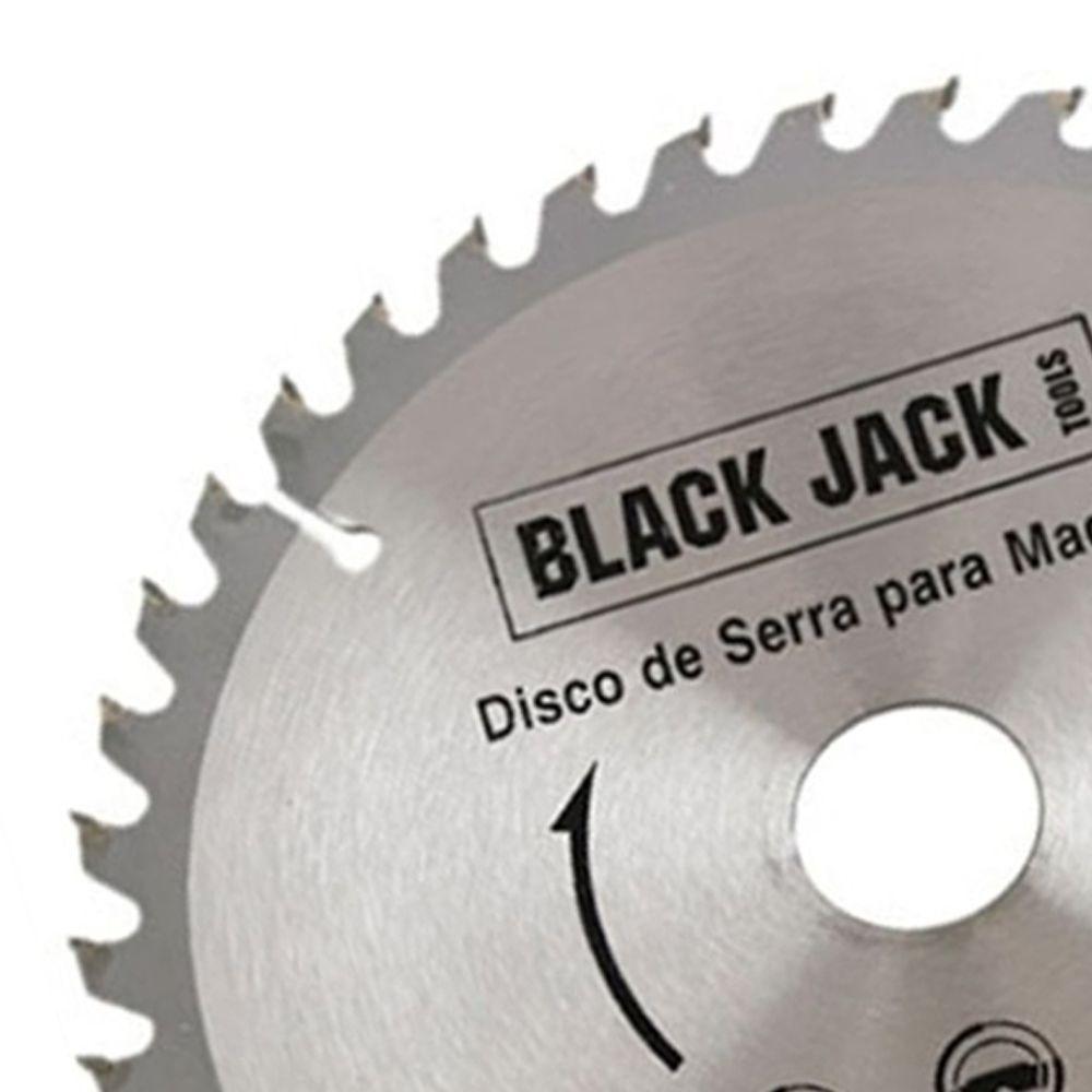 Disco de Serra Circular Madeira Vídea 180mm 40d Black Jack
