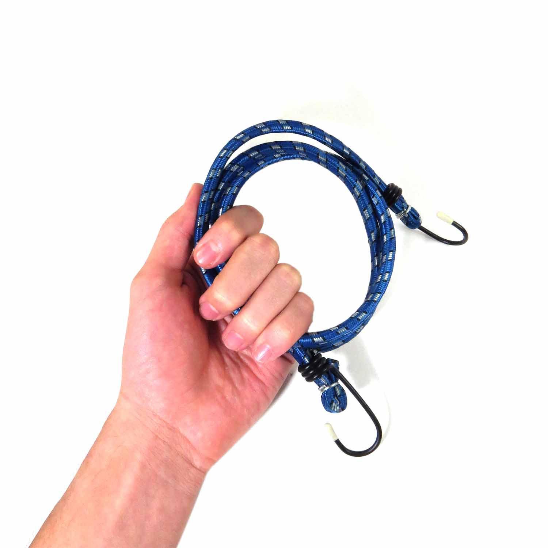 Elástico 2 Peças Para Prender Carga Azul/Vermelho Lugatools