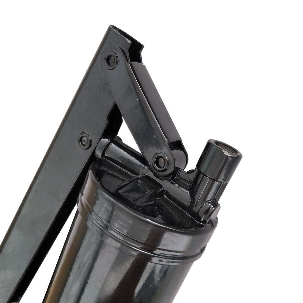 Engraxadeira Bomba De Graxa Manual 400g Bico Flexível Rígido
