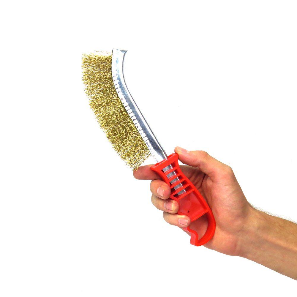 Escova De Aço Com 6 Peças Para Furadeira Eda