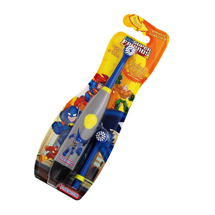 Escova De Dente Infantil Elétrica Dental Batman Super Heróis