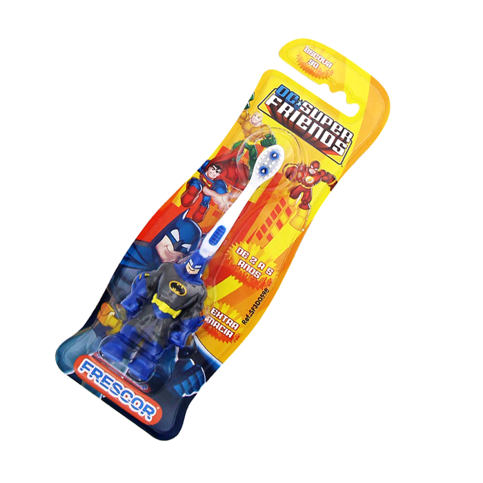 Escova Dental Batman Infantil 3d Extra Macia