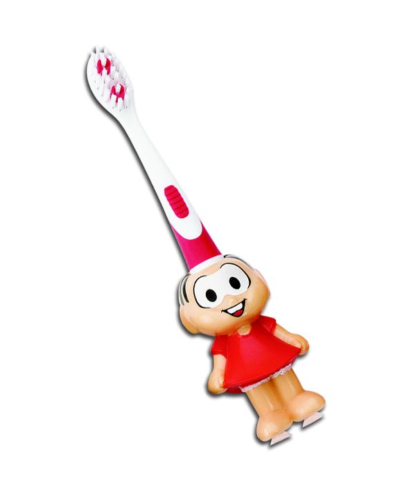 Escova Dental Infantil 3d 2 À 5 Anos Extra Macia Mônica