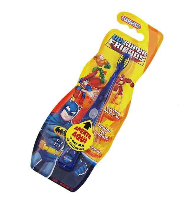 Escova Dental Infantil Musical Batman Acima De 5 Anos