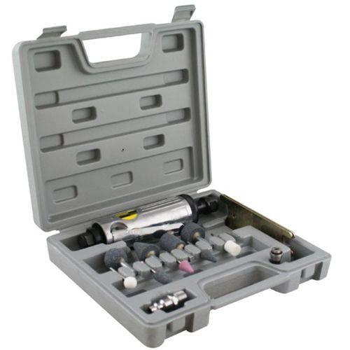 Esmeril de Ar Mini Pneumática Com 13 Acessórios Eda