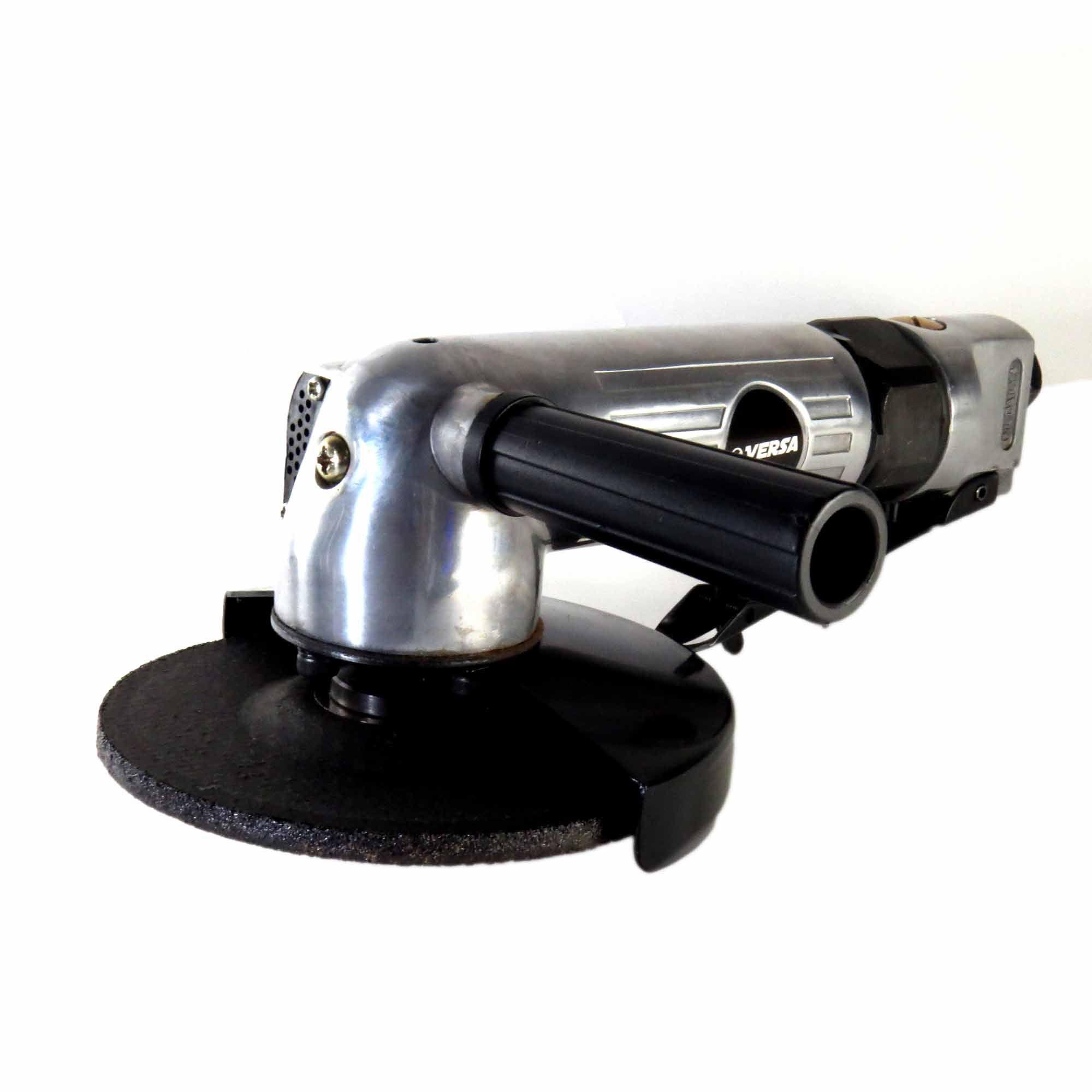 Esmerilhadeira Pneumática Em Alumínio 5 Pol Trava No Gatilho