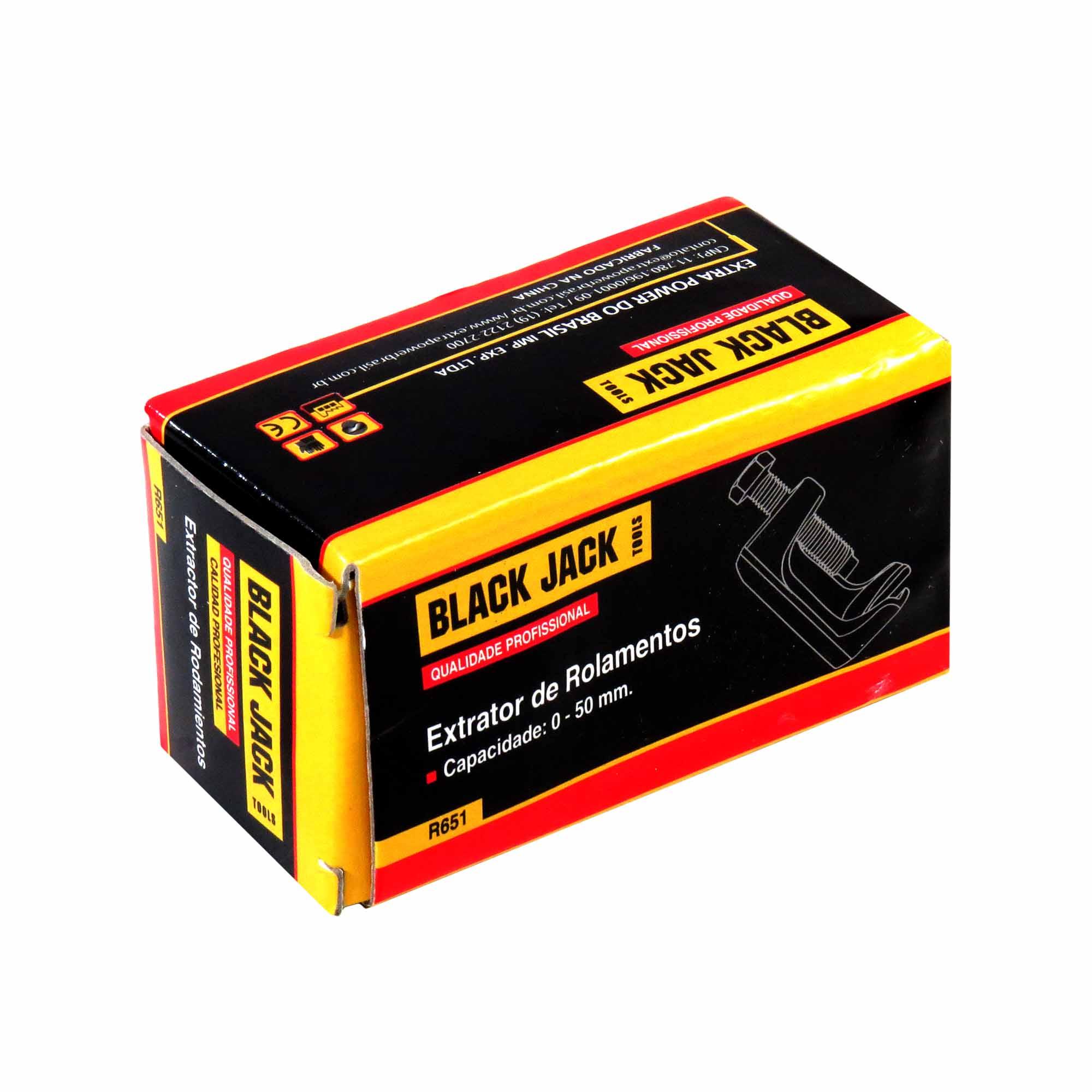 Extrator De Rolamento Capacidade De 0-50 mm Black Jack
