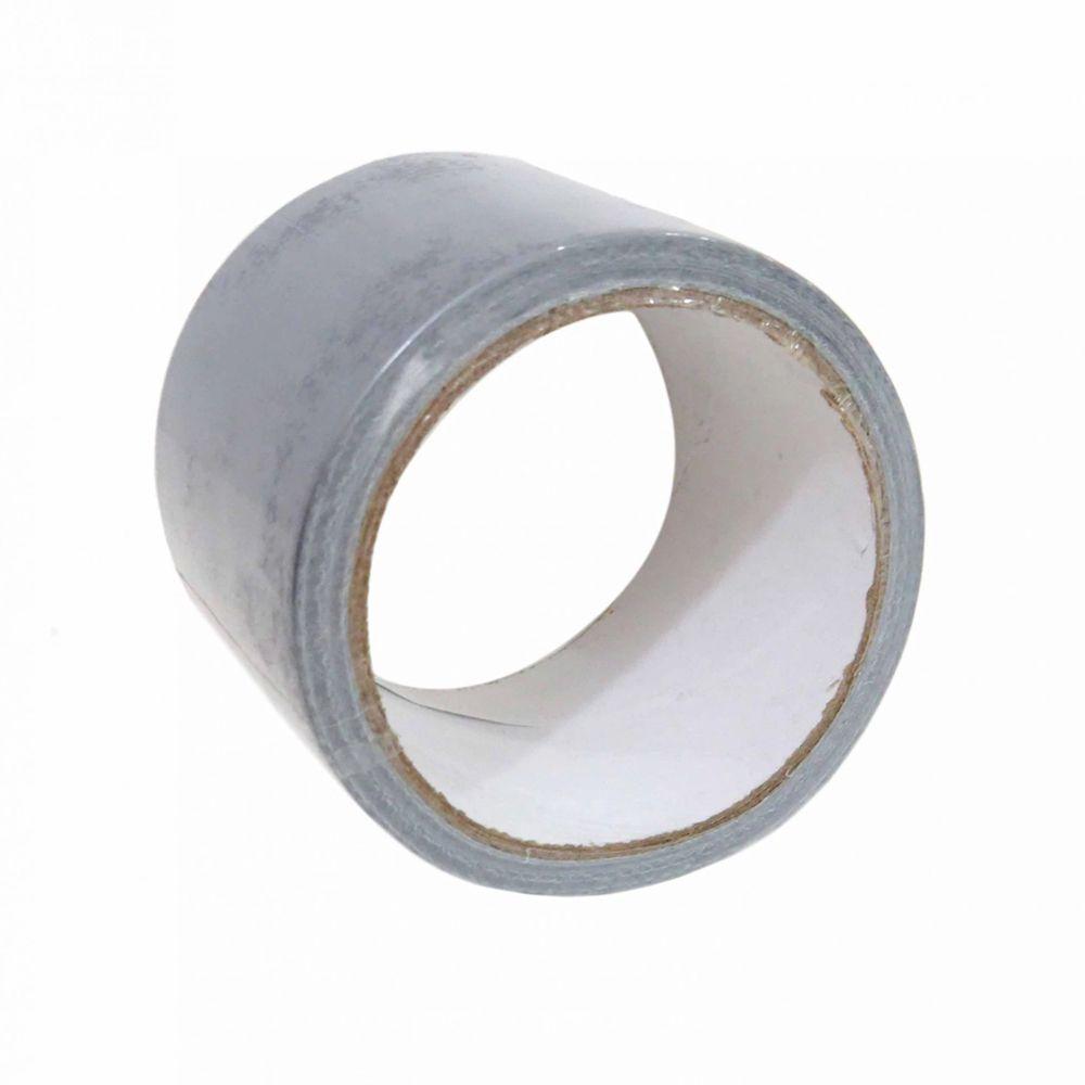 Fita Silver Tape Cinza 50 Metros Leetools 2 unidades