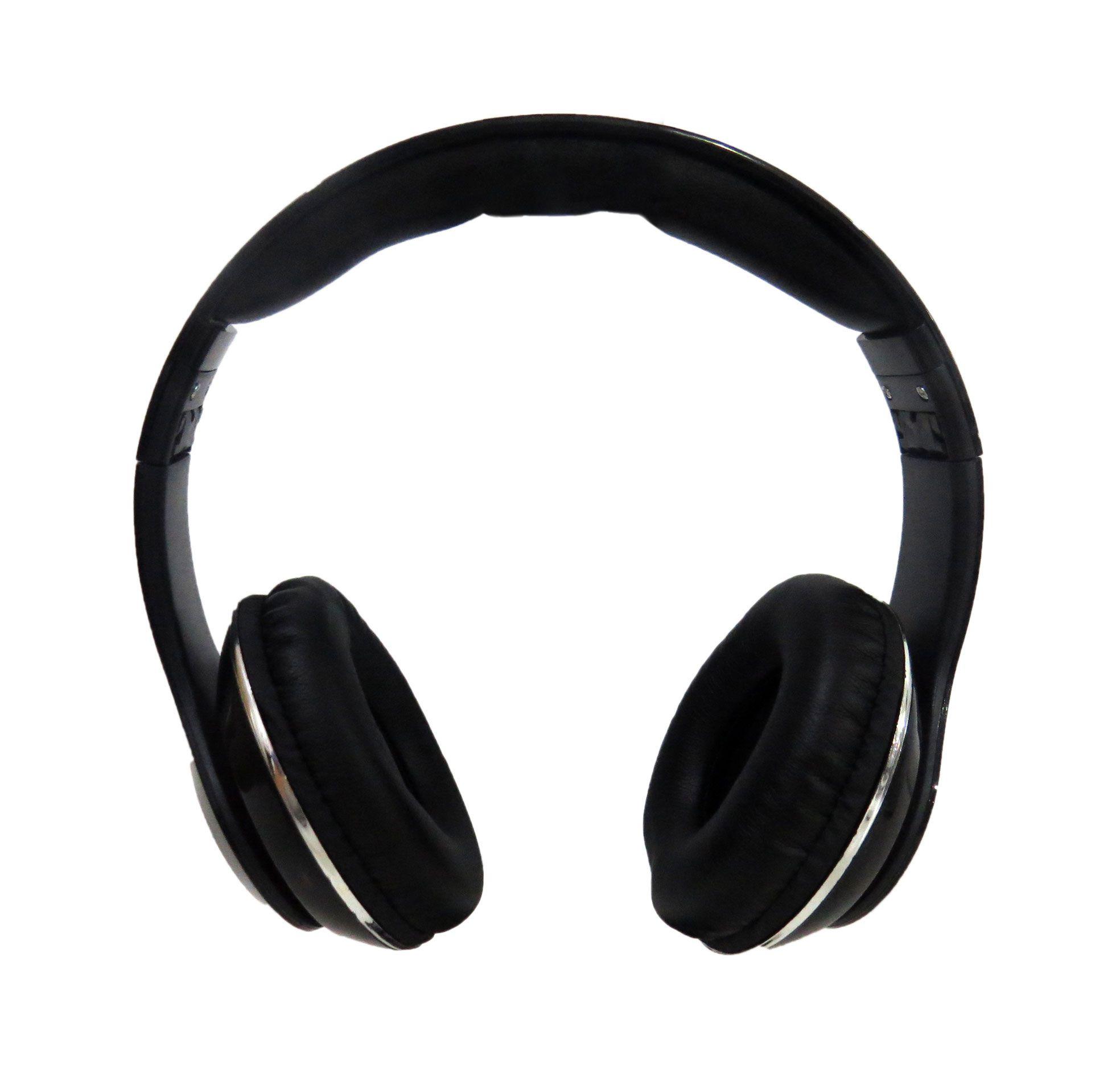 Fone De Ouvido Headphone Super Bass Alta Performance Preto OUTLINE