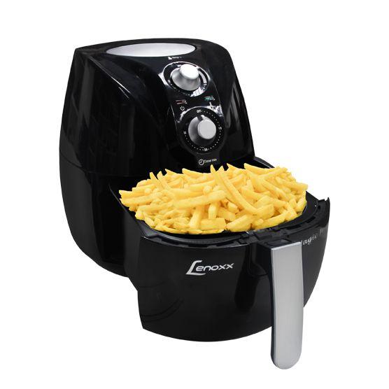 Fritadeira Sem Óleo Magic Fryer 127V Cesto Espaçoso Lenoxx BG3
