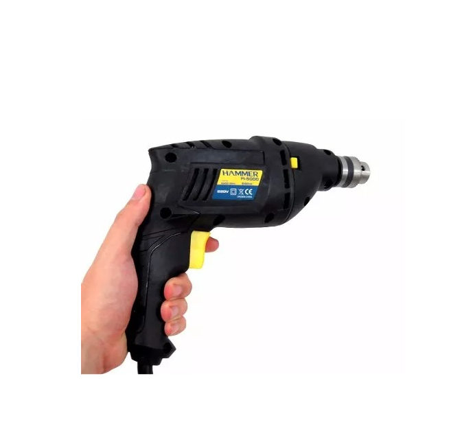 Furadeira De Impacto Hammer 550w 2900rpm Mandril 3/8