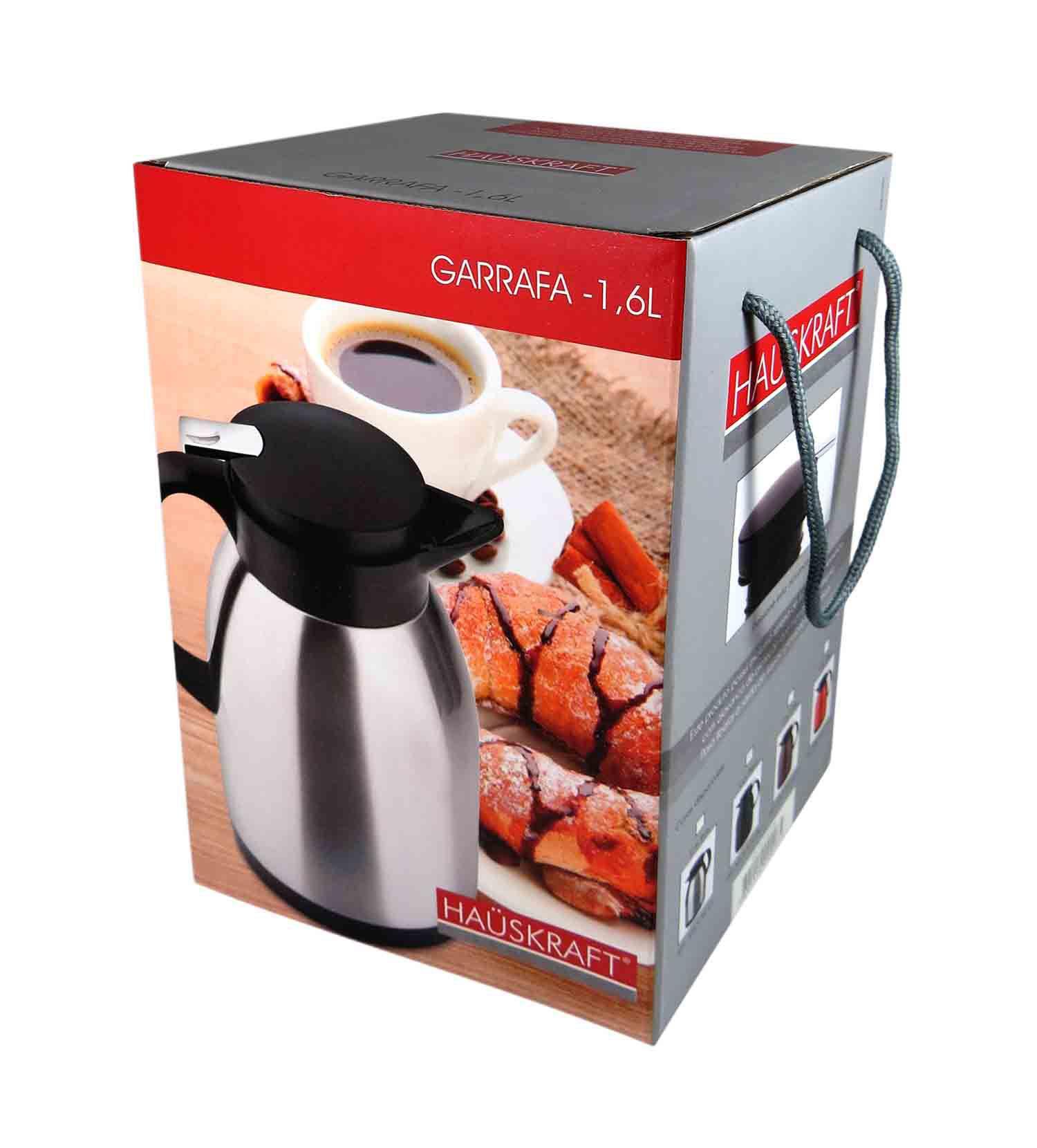Garrafa Térmica Aço Inox Café Chá Chimarrão Inquebrável 1,6L