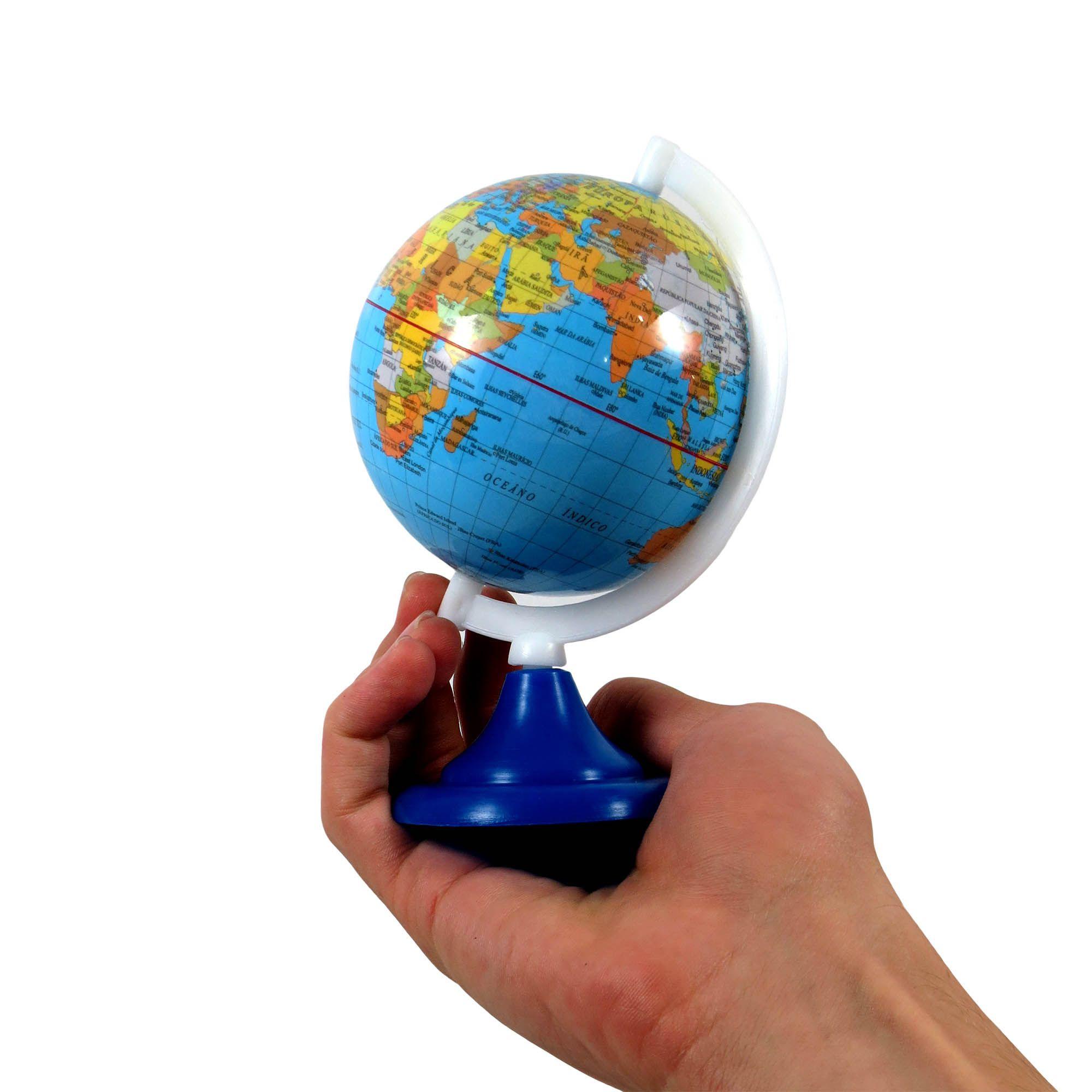 Globo Terrestre Político Mapa Decorativo Escolar Geografia