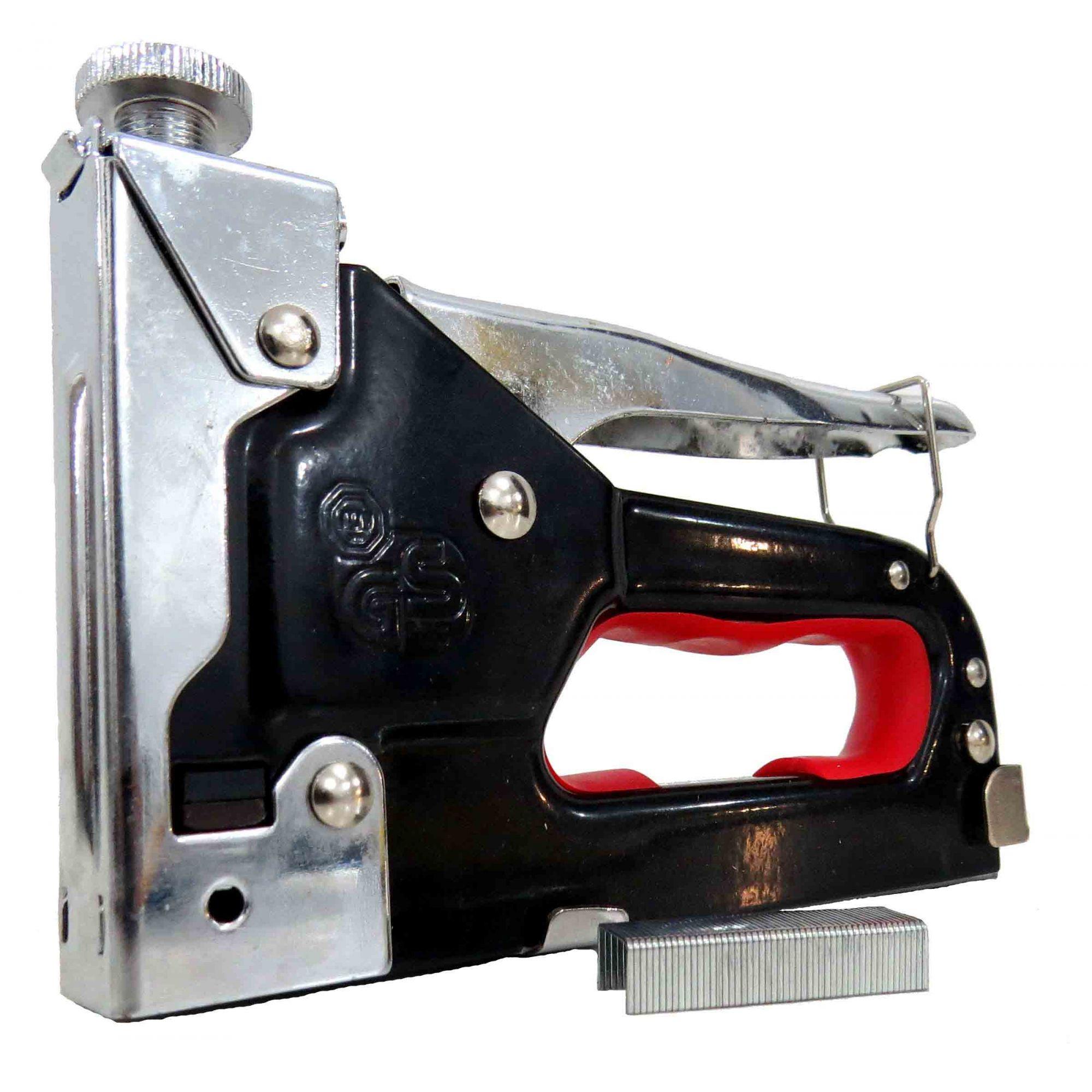 Grampeador De Tapeceiro Alta Pressão Profissional Sofá - Eda