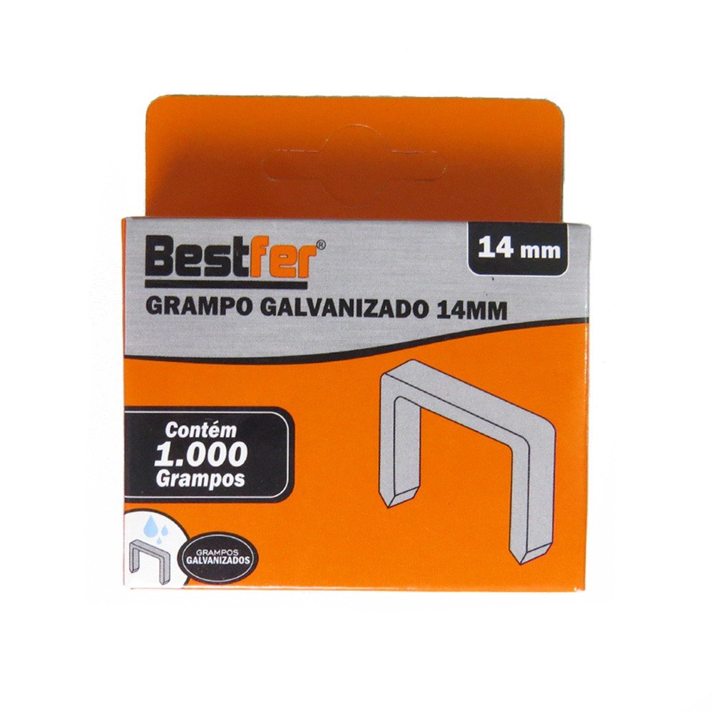 Grampeador Tapeceiro Profissional + 1000 Grampos U 14mm