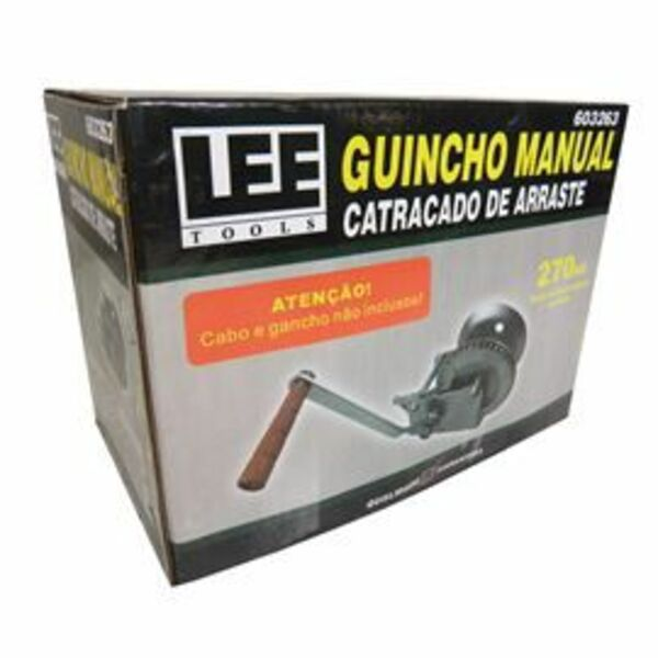 Guincho Manual Catracado De Reboque Arraste Içamento 270kg