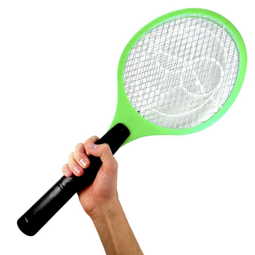 Jogo Com 10 Raquetes Mata Mosquito Recarregável Pleiadiano