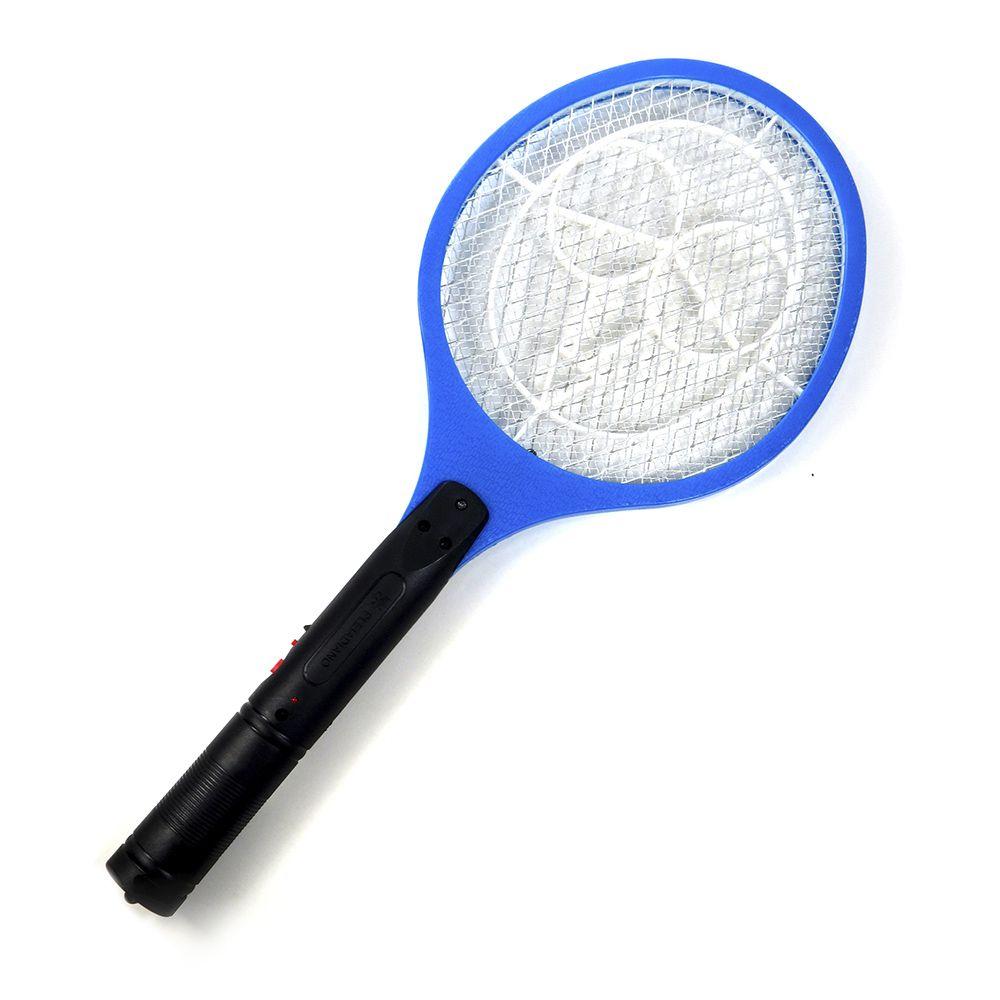 Jogo Com 2 Raquetes Mata Mosquito Recarregável Pleiadiano