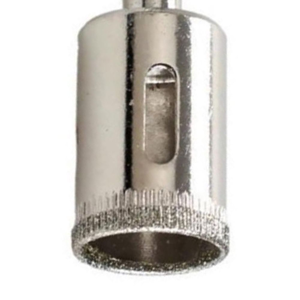 Jogo Com 5 Serras Copo Diamantada Para Vidro E Mármore 20mm