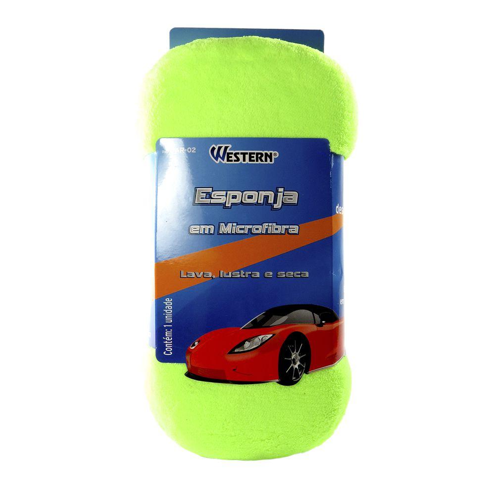Jogo de Limpeza Automotiva com Aspirador Esponja e Luva