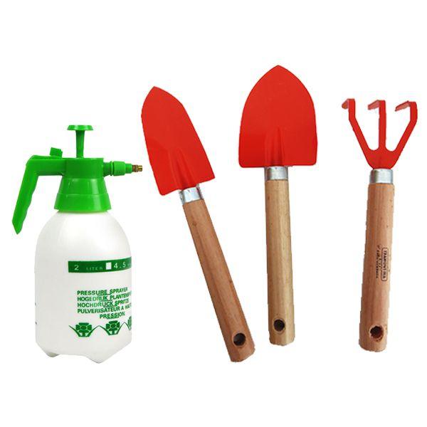 Jogo para Jardinagem 3 Peças + Pulverizador 2 Litros