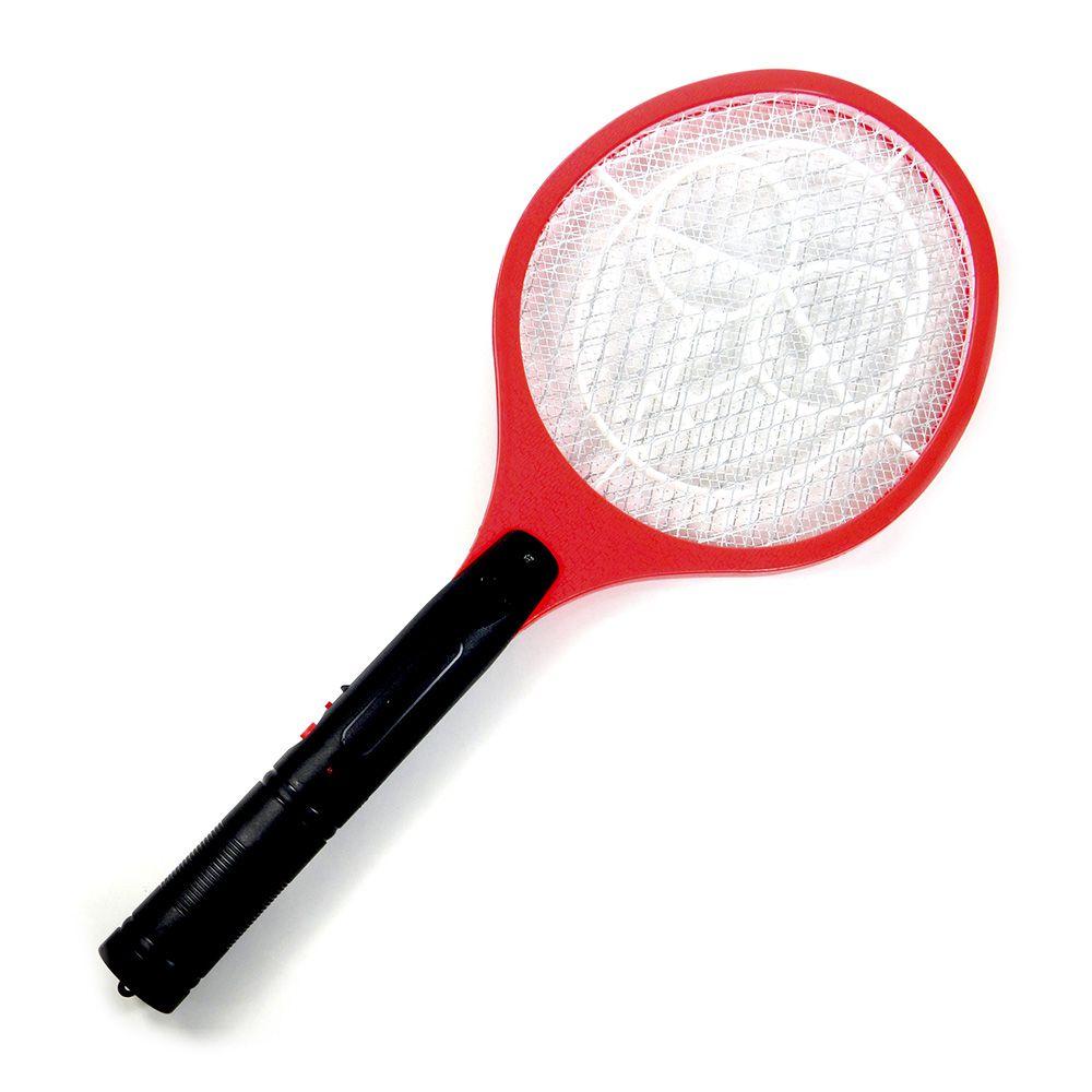 Jogo Repelente Mosquitos Eletrônico + Raquete Mata Mosquito