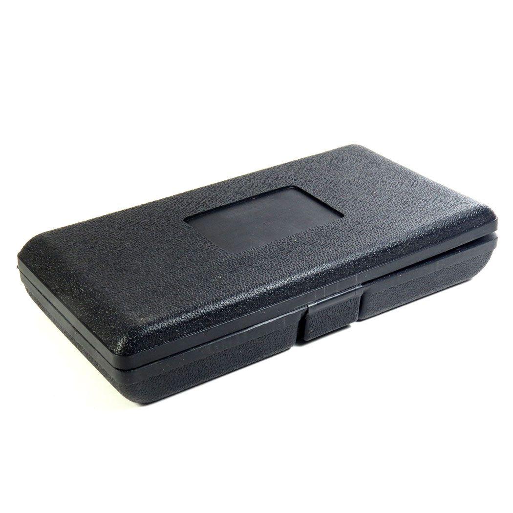 Jogo Kit Soquetes 1/4 Pol. 45 Peças Com Estojo Plástico