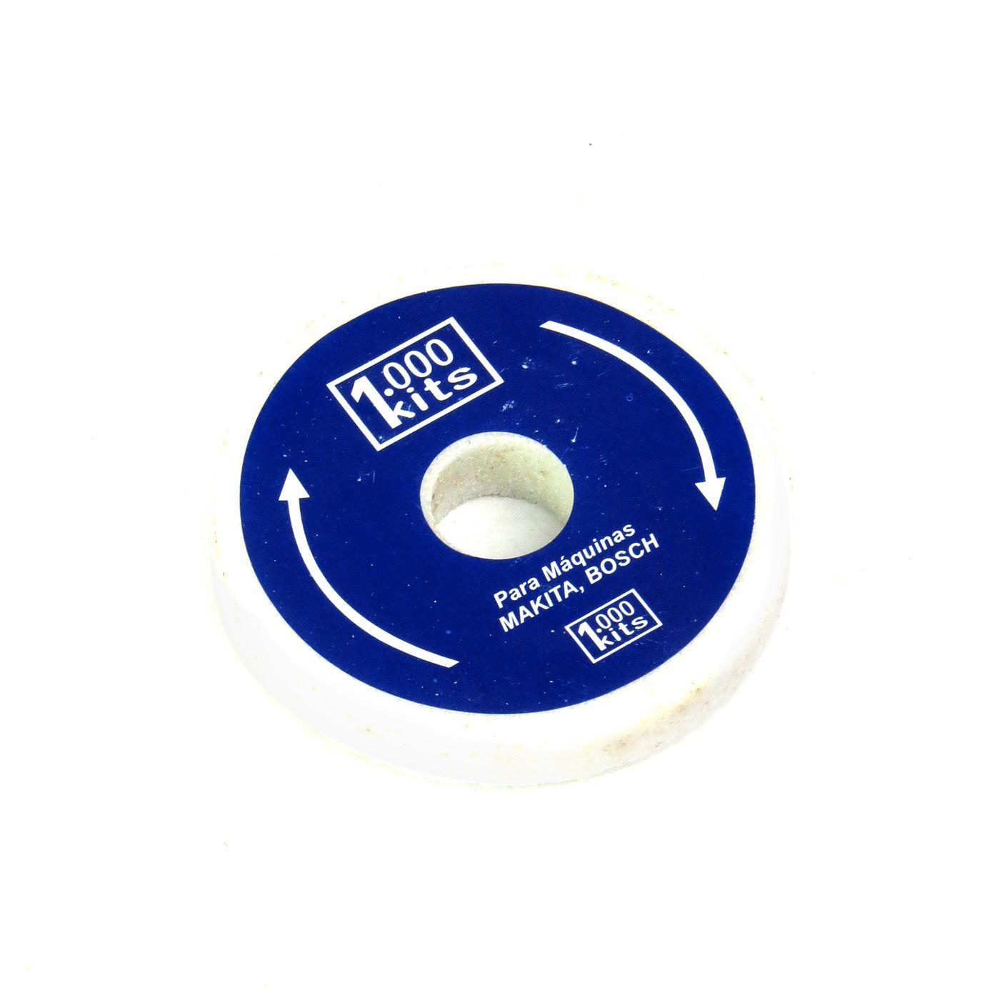 Kit Completo Afiador de Faca+Rebolo+Escova 1000 Kits M1 Cód.KITM-01