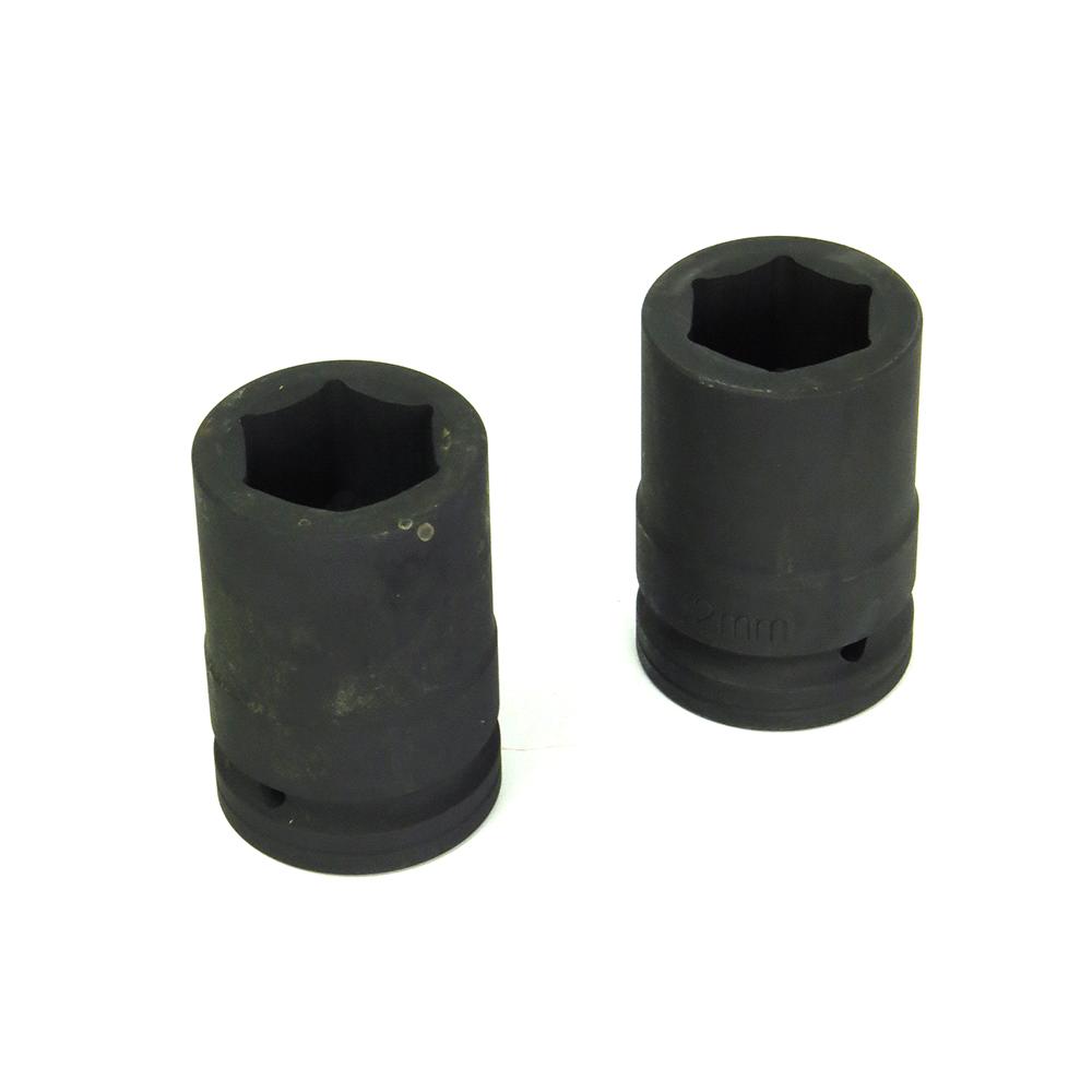 Kit Chave De Impacto Pneumática 1 Pol Com 2 Soquetes 32 e 33mm Eda