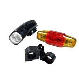 Kit Para Bicicleta Com 2 Lanternas (E)