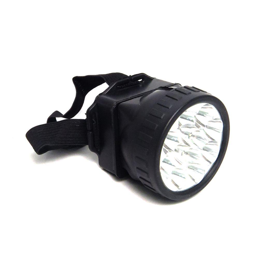 Lanterna de Cabeça Para Camping 12 Leds Western Cód.LN-396