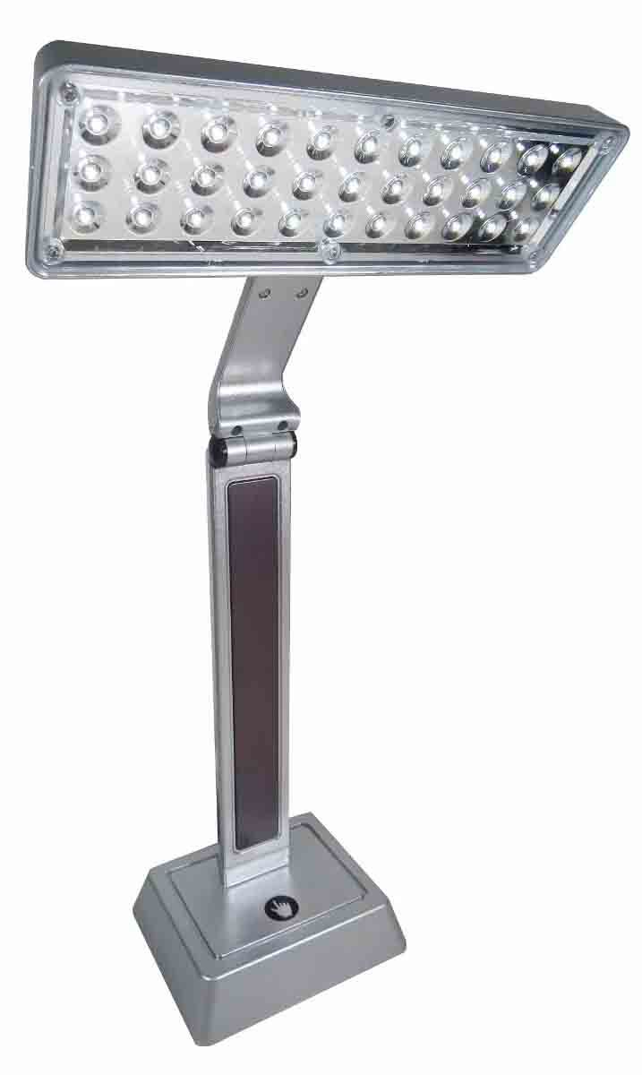 Luminária De Mesa Recarregável Dobrável 33 Leds Abajur