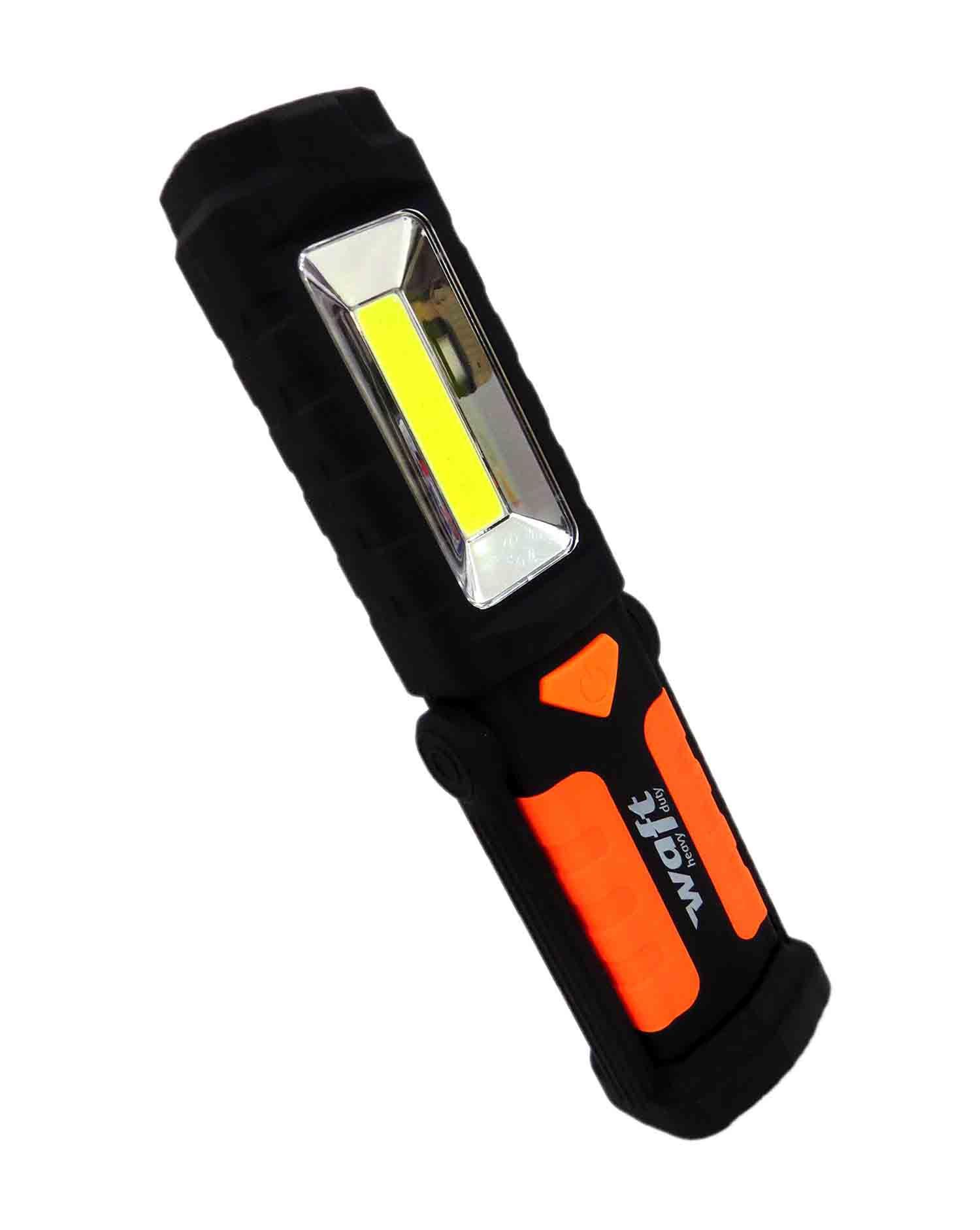 Luz de Inspeção Sinalizador LED Multi Com Gancho Imã