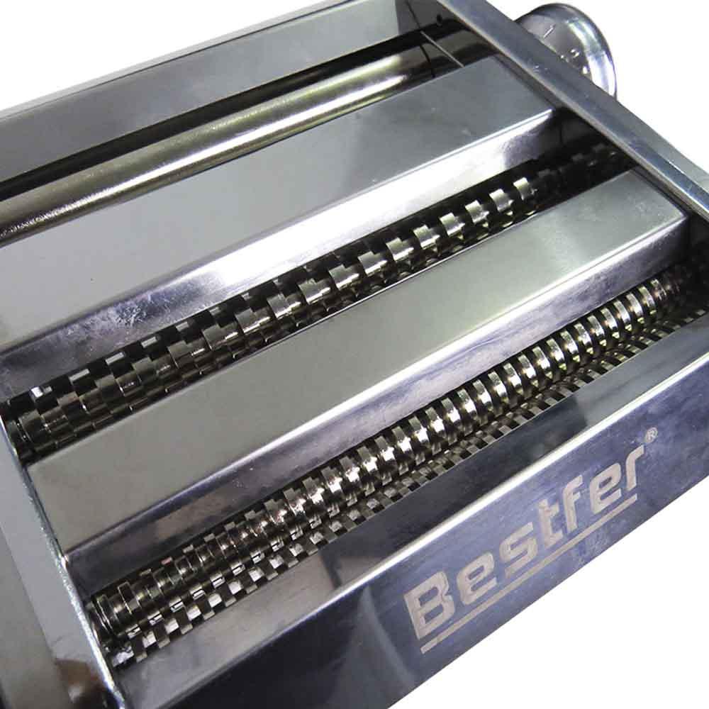 Máquina Profissional Macarrão Massa 2 Lâminas 2 e 4mm Inox