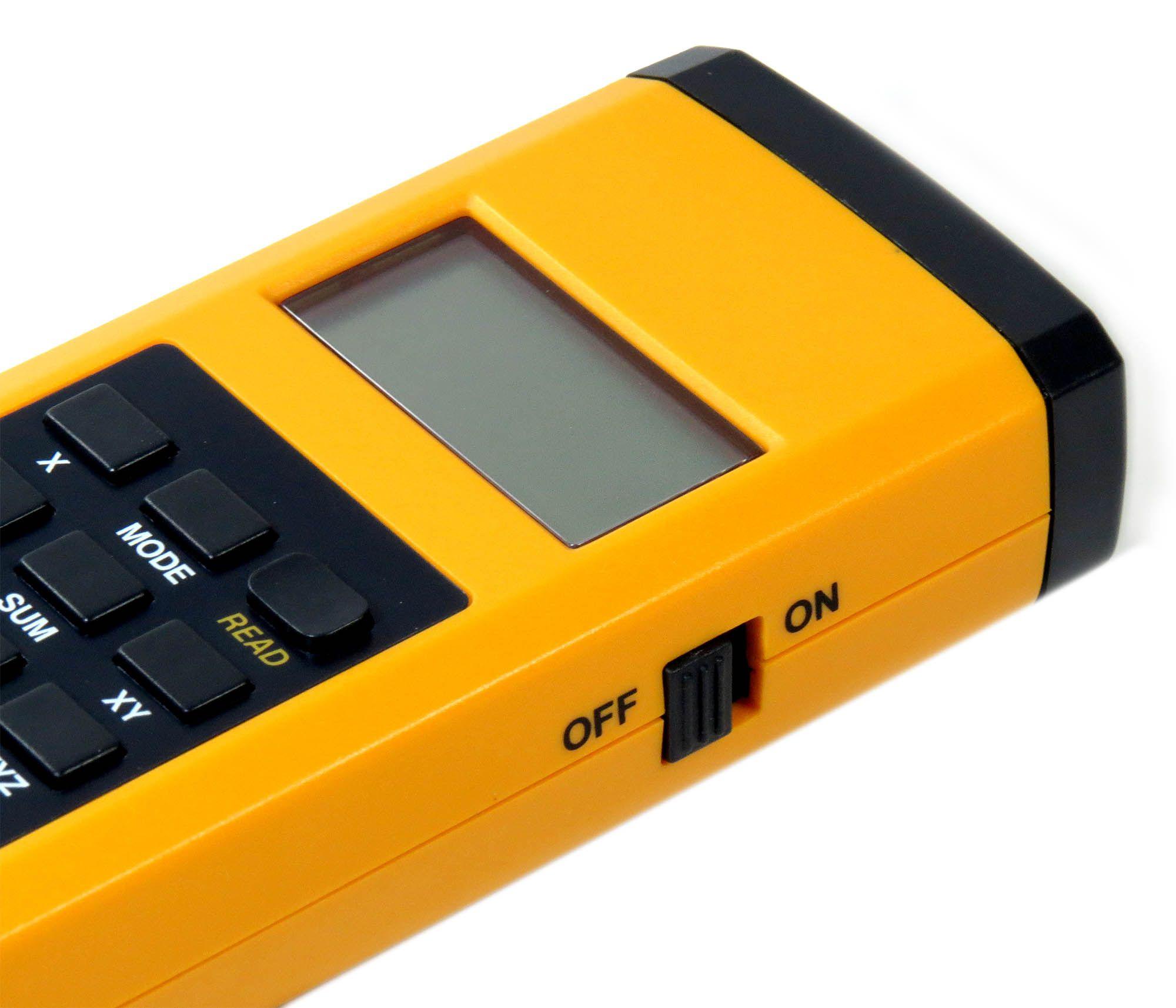 Medidor De Distâncias Á Laser Com Cálculo Área E Do Volume