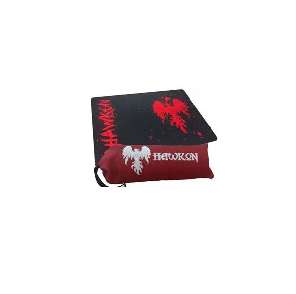 Mousepad Gamer Hawkon Pange Blood Grande Com Bag