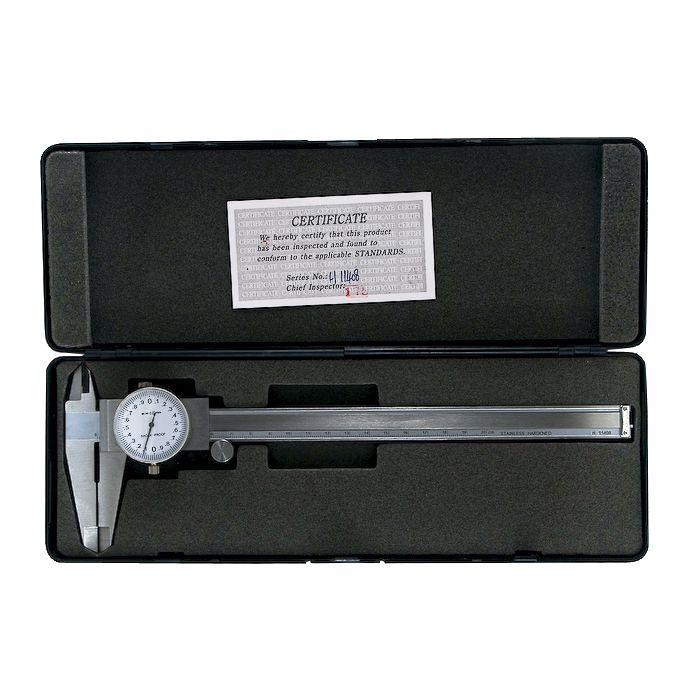 Paquímetro Com Relógio 8Pol 200mm Eda