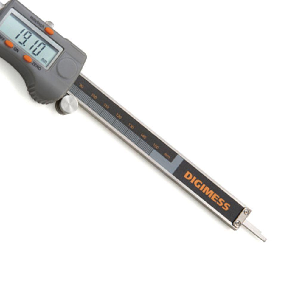 Paquímetro Digital 6 Pol 150MM Profissional Digimess